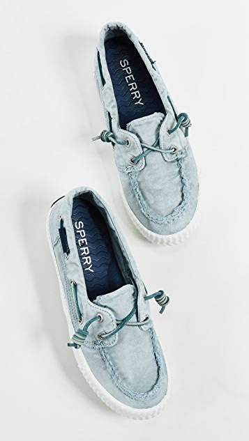 Sperry Sayel Away Washed Boat Shoes