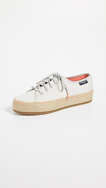 Sperry Sky Sail Jute Wrap Platform Sneakers