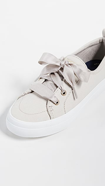 Sperry Crest Vibe Satin Lace Sneakers