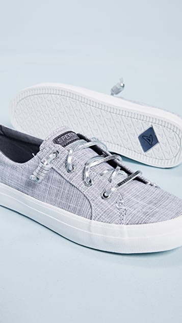 Sperry Crest Vibe Metallic Novelty Sneakers