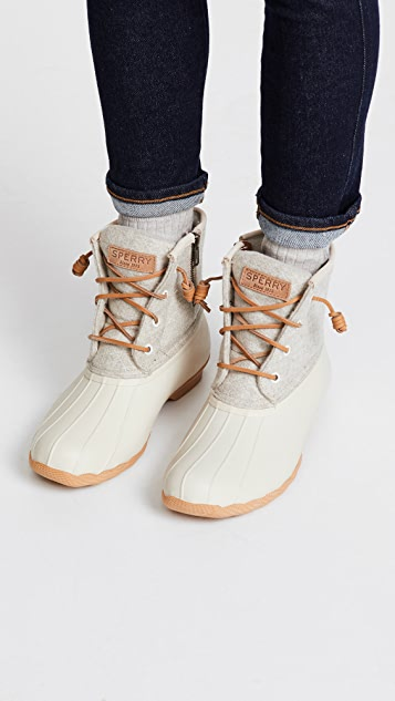 Sperry Saltwater Embos Wool Boots