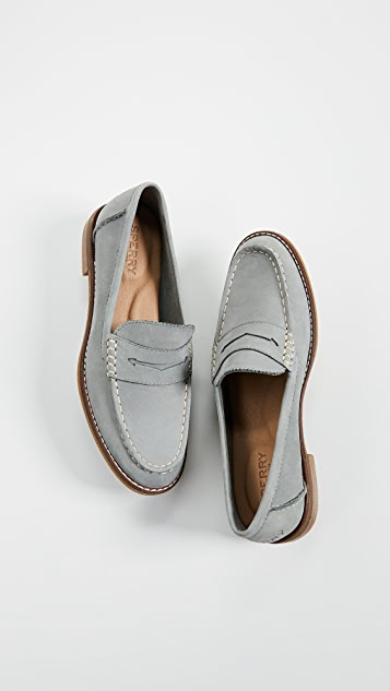 Image result for sperry seaport loafer gray