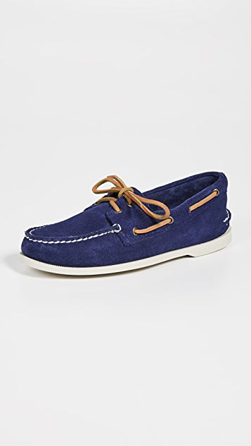 b654e9b0cc Sperry A O 2 Eye Suede Shoes