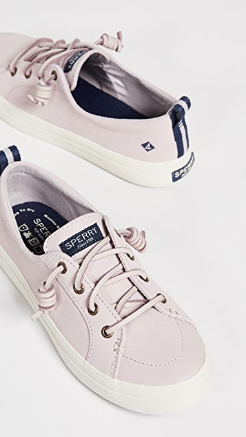 Sperry Crest Vibe Washable Leather Sneakers