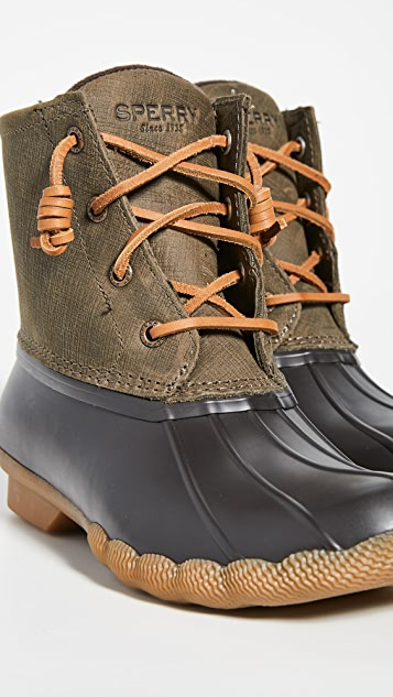 Sperry Saltwater Laceup Boots