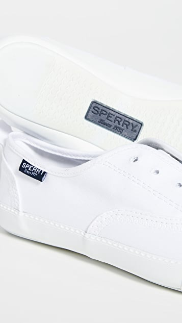 Sperry Sayel Clew Washed Canvas Sneakers