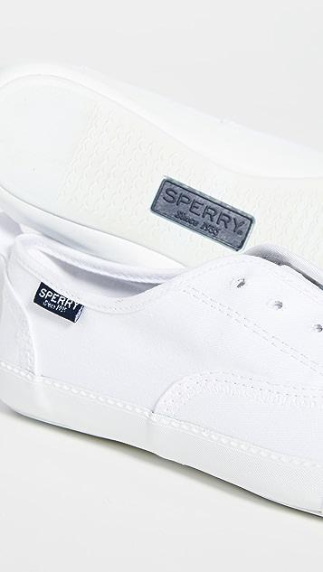 Sperry Sayel Clew 水洗帆布运动鞋