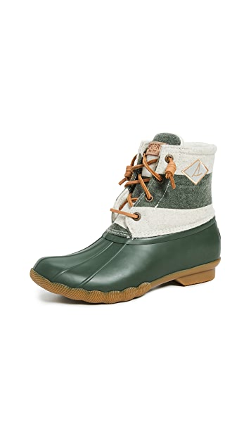 Sperry Saltwater Lace Up Boots