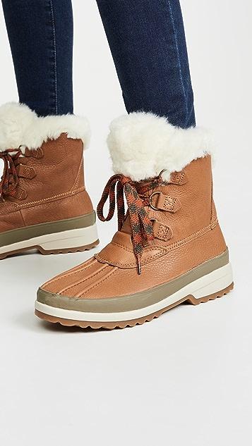Sperry Maritime 冬日靴子
