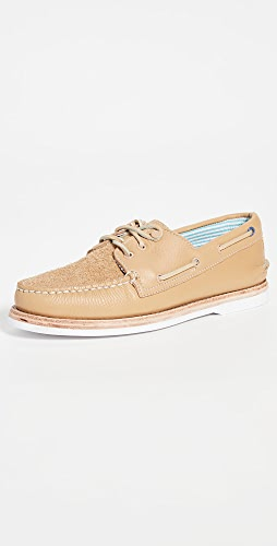 Sperry - A/O 3-Eye Suede Boat Shoes