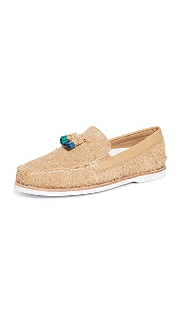 Sperry A/O Tassel Loafer Suede Shoes