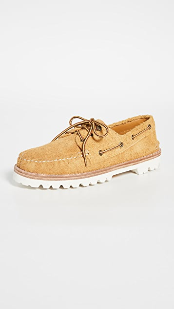 Sperry A/O 3-Eye Lug Loafers