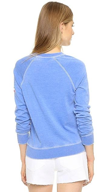 Spiritual Gangster Happiness Is the Way Burnout Sweatshirt