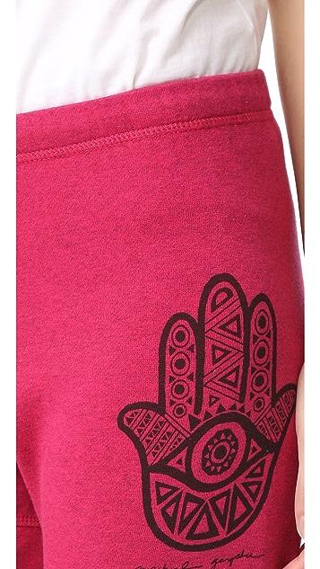 Spiritual Gangster Hamsa Eye Dharma Pants