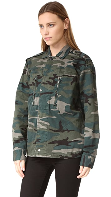Spiritual Gangster Trust the Universe Army Jacket