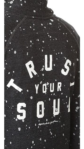 Spiritual Gangster Trust Your Soul Zip Hoodie