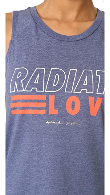 Spiritual Gangster Radiate Love Muscle Tank