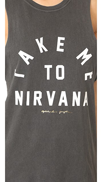 Spiritual Gangster Take Me To Nirvana Rocker Tank