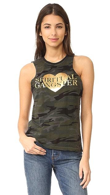 Spiritual Gangster SG Love Rocker Tank