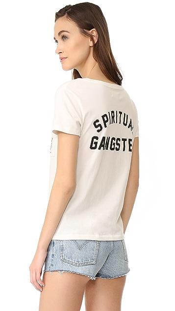 Spiritual Gangster Salute The Sun Tee