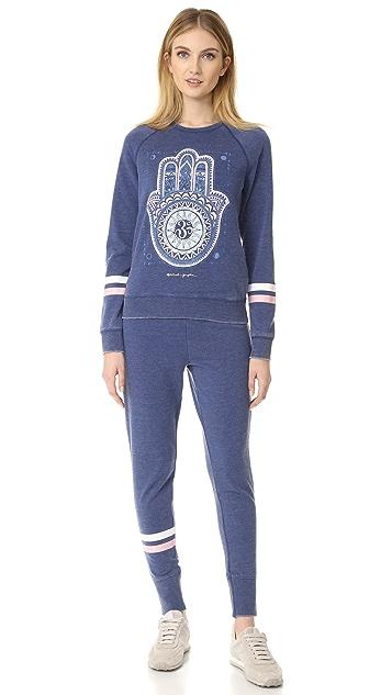 Spiritual Gangster Dreamer Hamsa Sweatshirt