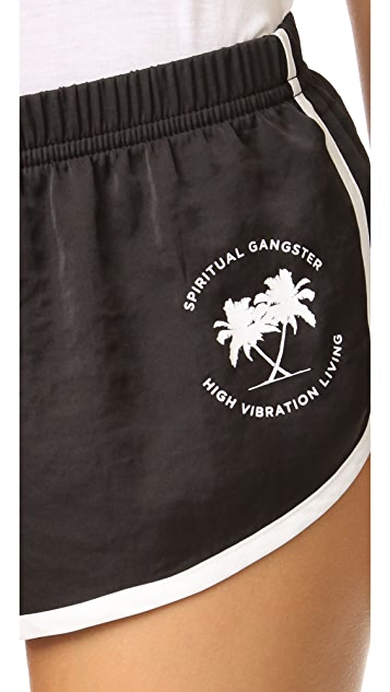 Spiritual Gangster SG Palms Shorts