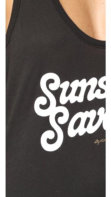Spiritual Gangster Sunshine & Savasana Aura Tank