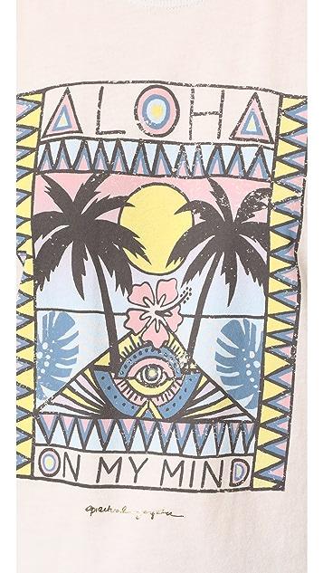 Spiritual Gangster Aloha Mind Rocker Tank