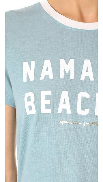 Spiritual Gangster Namaste Beaches Zen Tee
