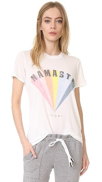 Spiritual Gangster Namaste Rainbow Zen Tee