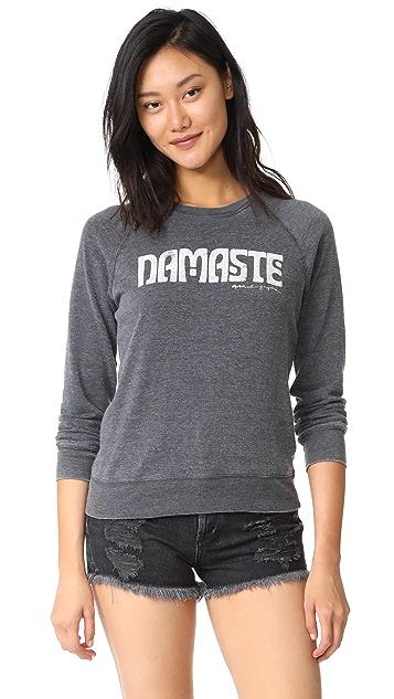 Spiritual Gangster Namaste Summer Boyfriend Sweatshirt