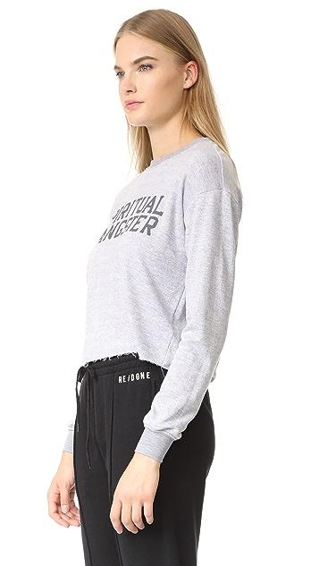 Spiritual Gangster SG Varsity Crop Sweatshirt