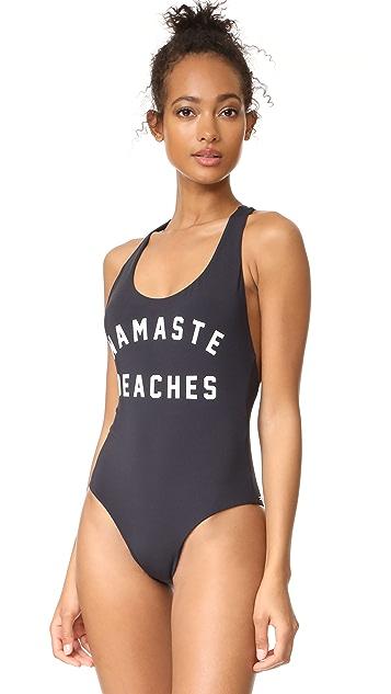 f9ab8a91745 Spiritual Gangster Namaste Beaches Swimsuit | SHOPBOP