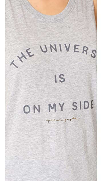 Spiritual Gangster The Universe Is On My Side Muscle Tank