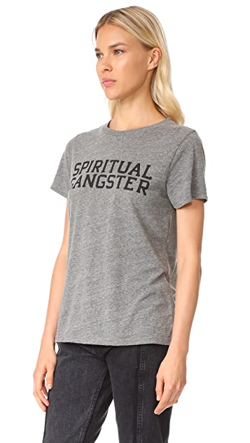 Spiritual Gangster SG Varsity Tee
