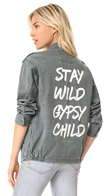 Spiritual Gangster Stay Wild Gypsy Child Jacket