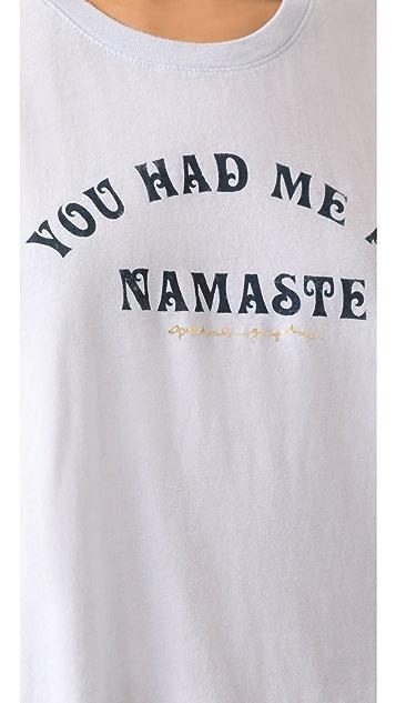 Spiritual Gangster You Had Me at Namaste Cropped Tank