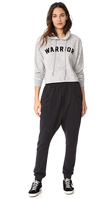 Spiritual Gangster Warrior Cropped Hoodie
