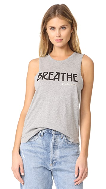Spiritual Gangster Breathe Muscle Tank