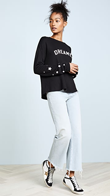 Spiritual Gangster Dreamer Cropped Sweatshirt