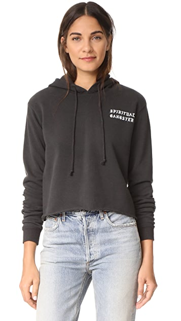 Spiritual Gangster Take Me to Nirvana Cropped Hoodie