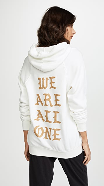 Spiritual Gangster We Are All One Hoodie
