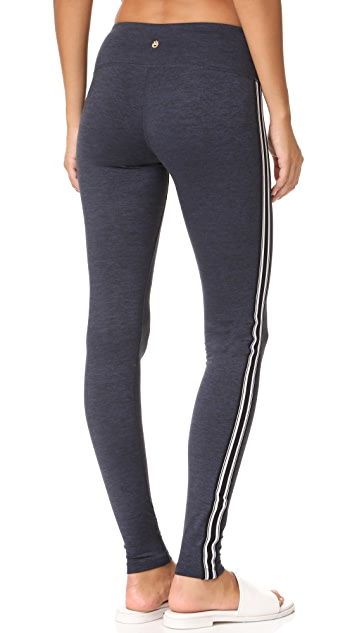 Spiritual Gangster Athletic Stripe Practice Leggings