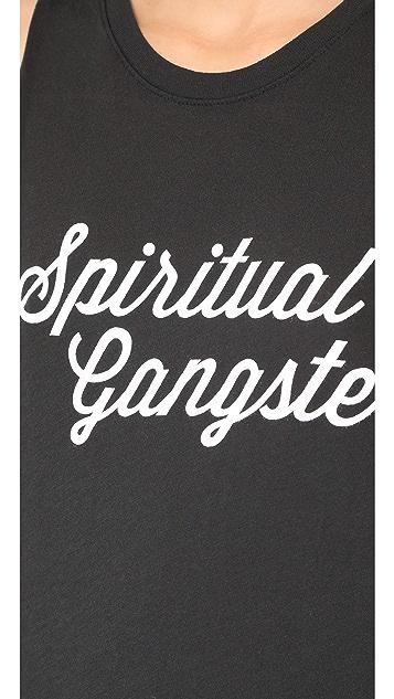 Spiritual Gangster SG Script Muscle Tank
