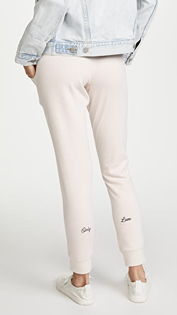 Spiritual Gangster Only Love Skinny Joggers