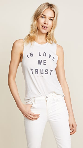 Spiritual Gangster In Love We Trust Muscle Tank