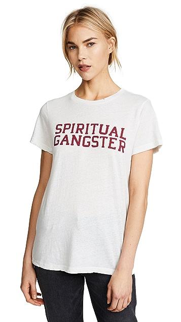 Spiritual Gangster SG Varsity Rec Tee