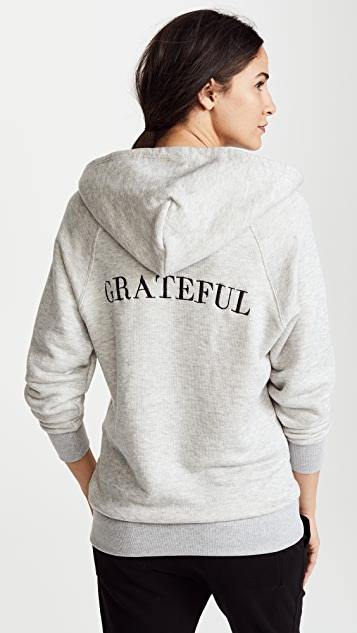 Spiritual Gangster Grateful Gym Hoodie