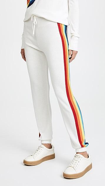 Spiritual Gangster x Madeleine Thompson Rainbow Bebe Pants