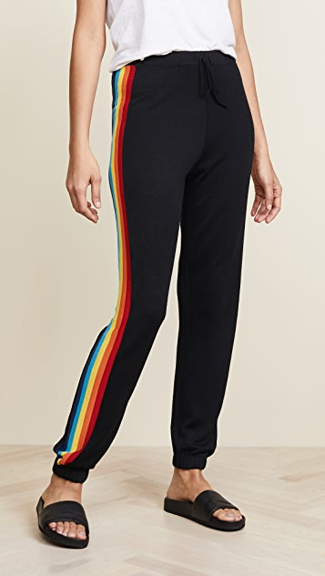 Spiritual Gangster x Madeleine Thompson Rainbow Bebe Pants